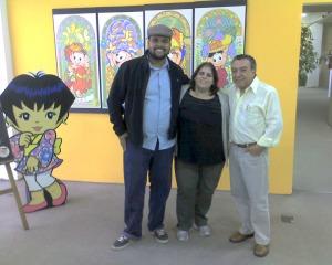 Eu, Ana e Mauricio na MSP!